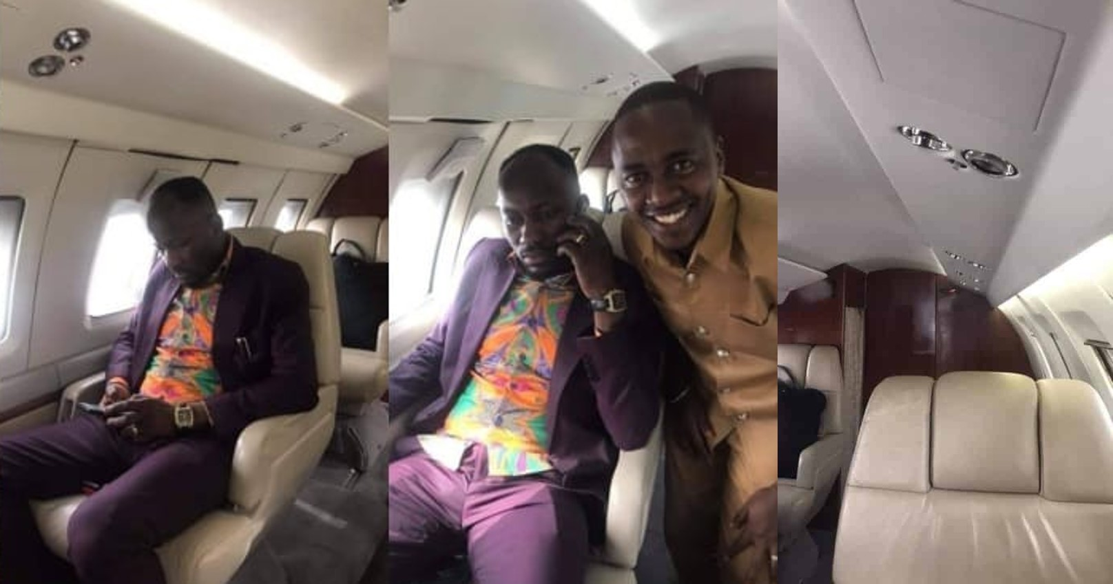 Apostle Suleman acquires a brand new private jet