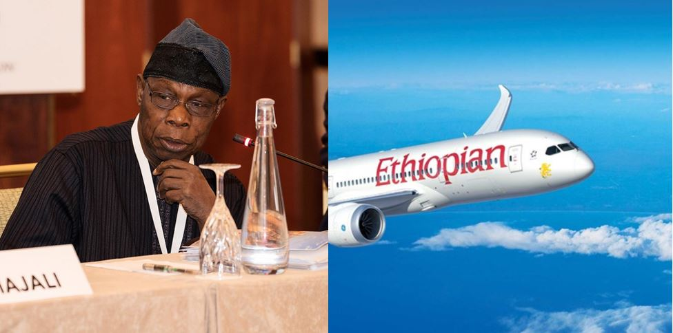 Obasanjo shares experience in an Ethiopian Airline aircraft which had difficulties landing