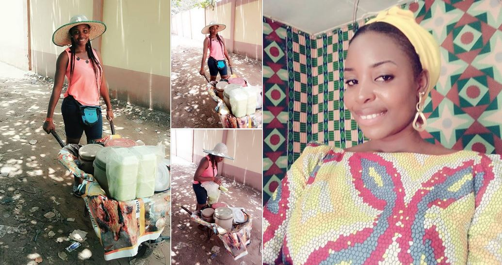 Be dirty to get your food instead of being clean and hungry – Nigerian graduate who hawks food shares her story