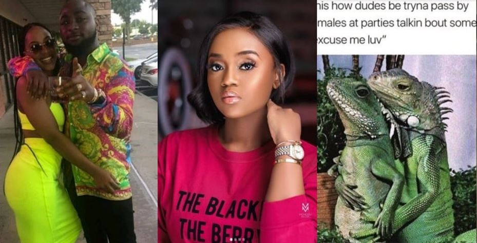Chioma subtly shades Davido and his second babymama, Amanda