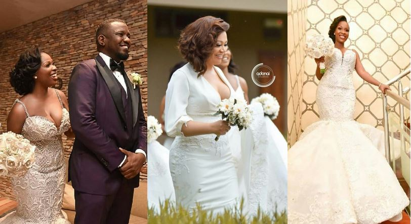 Official Photos From John Dumelo's White Wedding Which Held Over The Weekend