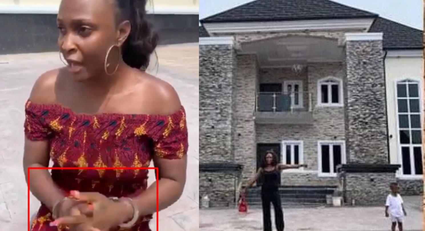 What happened between Okoro Blessing and Onye Eze was not a publicity stunt – Onye Eze's girlfriend reacts