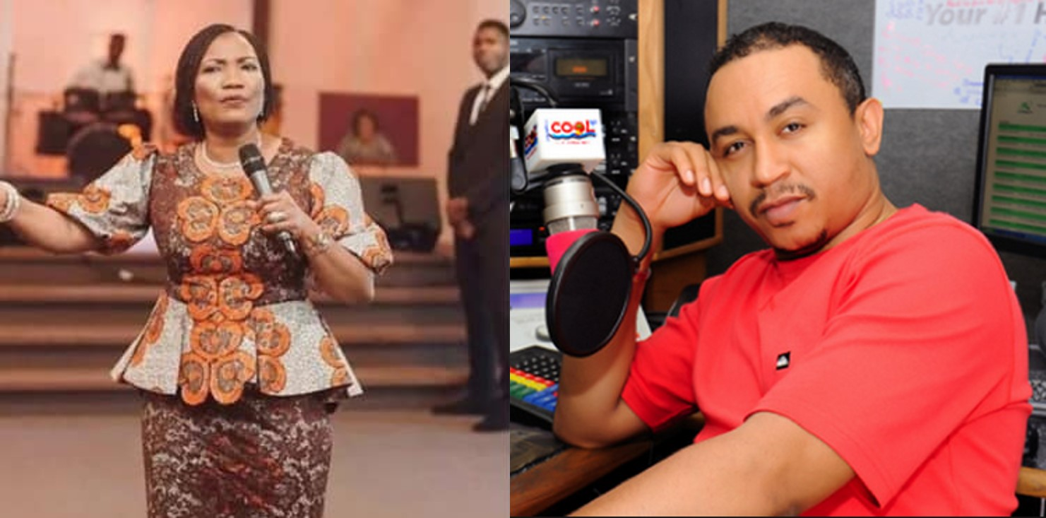 Pastor Funke Felix-Adejumo tells married women what to do when 'stupid girls' sleep with their husbands, Daddy Freeze reacts (video)