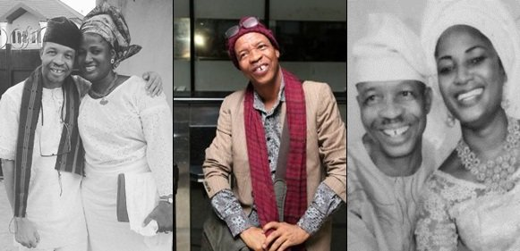 Nigerian actor, Saka reveals the only regret he has as he celebrates his 16th wedding anniversary