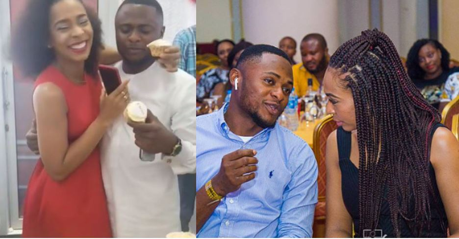 Tboss reacts to rumours of her expecting a child with Ubi Franklin