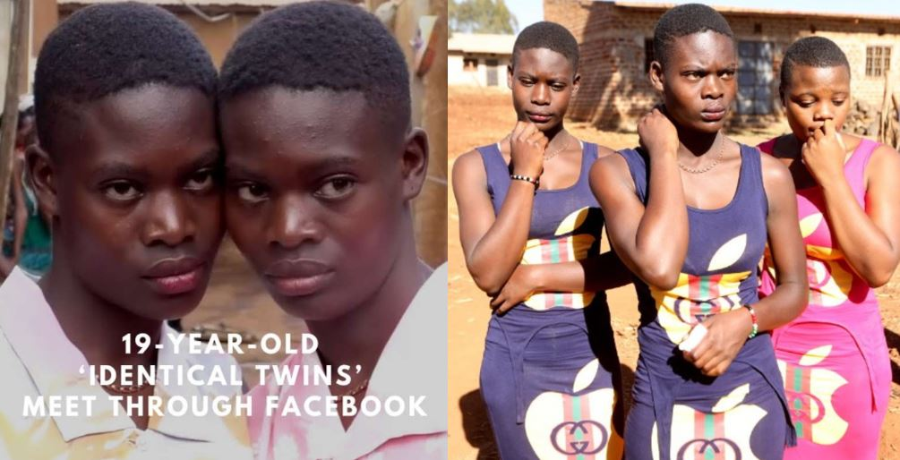 Identical twins separated at birth at the hospital finds themselves on Facebook (Photos)