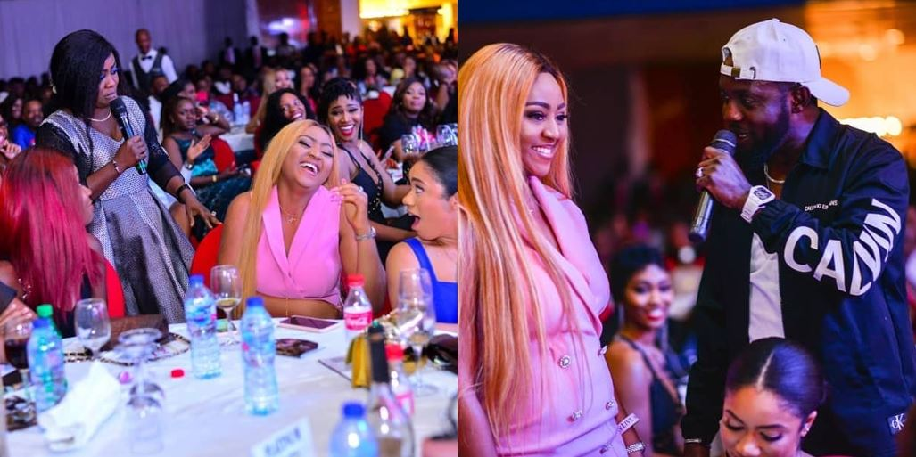 Regina Daniels becomes the center of attention at AY Live comedy show (photos)