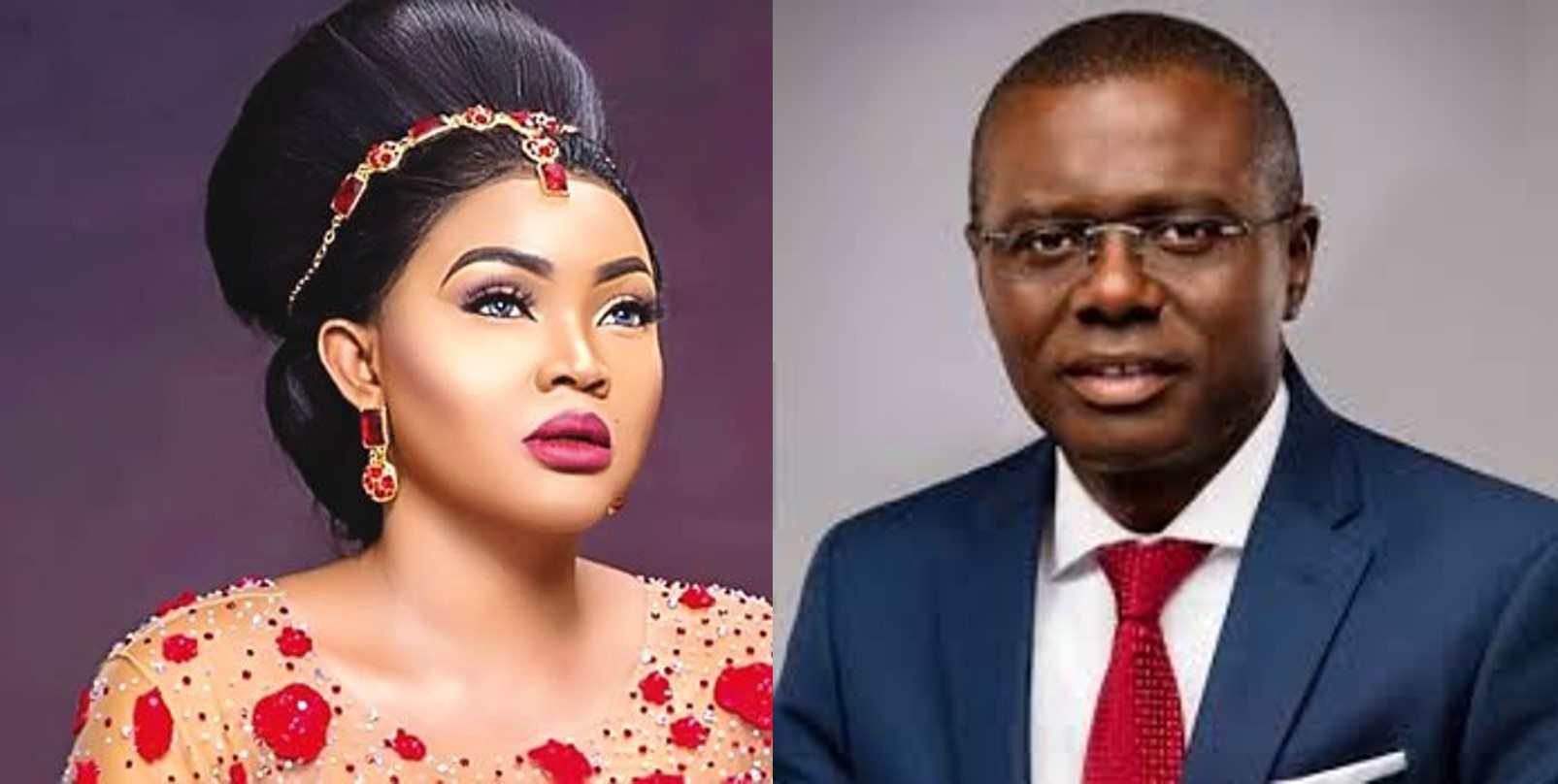 Nigerians troll Mercy Aigbe, accuse her of trying to 'flirt' with Lagos state governor, Sanwo-olu