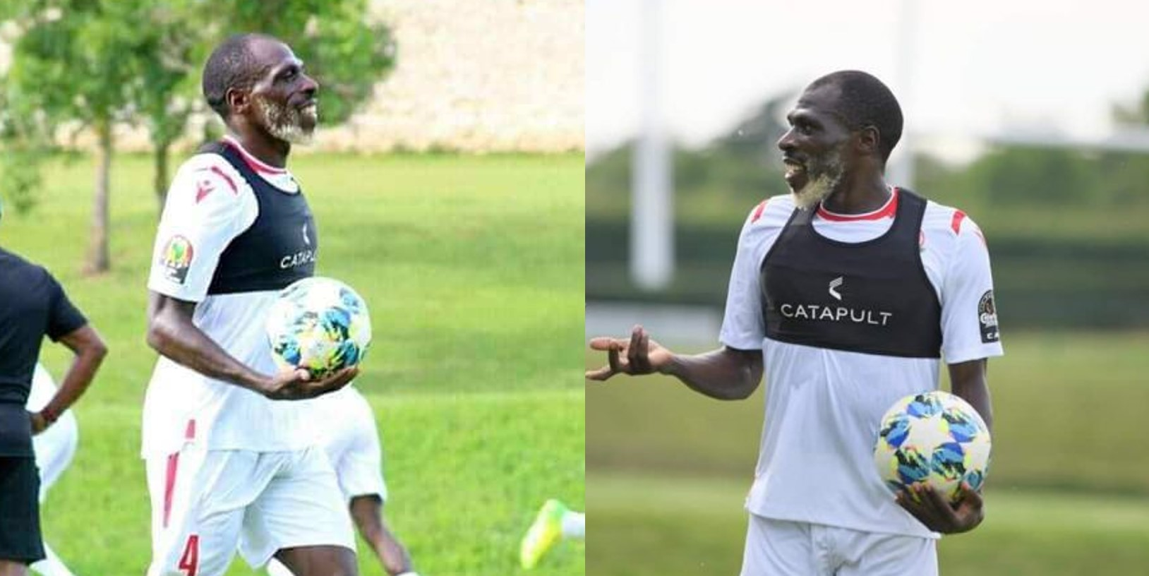 Meet 27-year-old Kenyan footballer, Joash Onyango, training with the national team ahead of 2019 AFCON