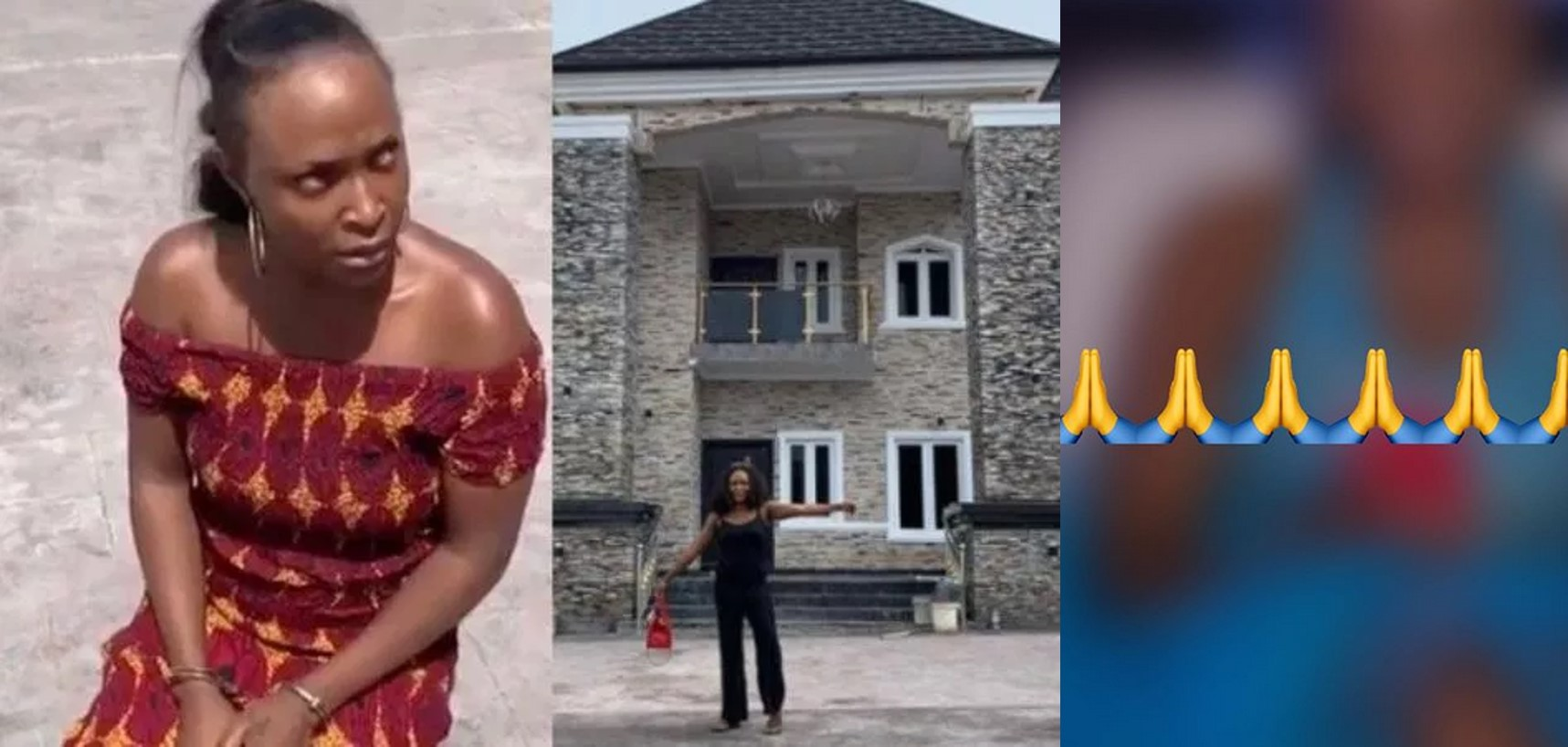 Okoro Blessing finally apologizes, reveals what pushed her to lie
