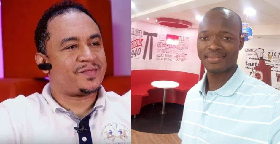 Daddy Freeze reacts after Evangelist Victor Edet said Tope Alabi will not make heaven because of what she wears
