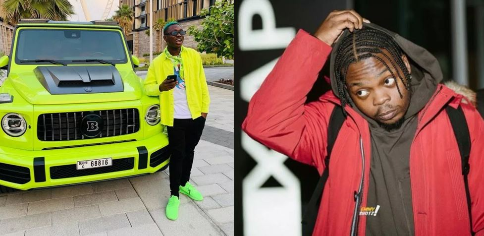 Zlatan Ibile shares screenshots of the chat he had with Olamide in 2016 before he became famous and they are hilarious