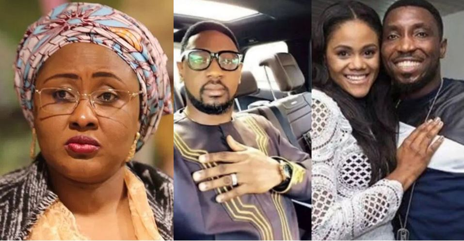 First lady, Aisha Buhari reacts to the allegations levelled against Pastor Biodun Fatoyinbo by Busola Dakolo