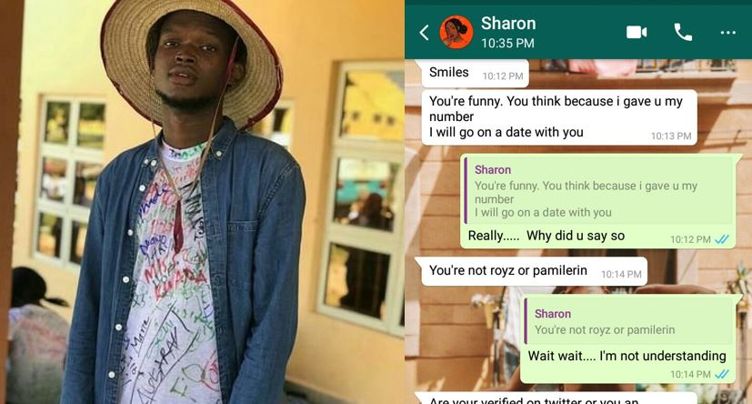 Nigerian man reveals why a girl he met online refused to date him