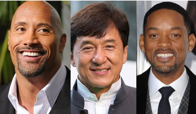 Forbes releases top 10 highest paid actors in the world (Photos)