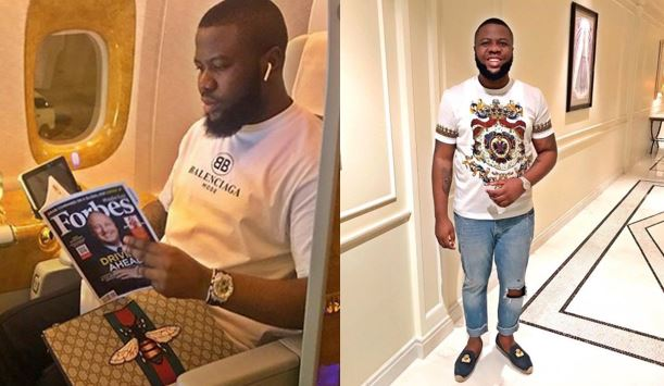 Hushpuppi answers questions on his beef with Mompha, why he doesn't share photos of his girlfriend and why he doesn't wear jewelries and more