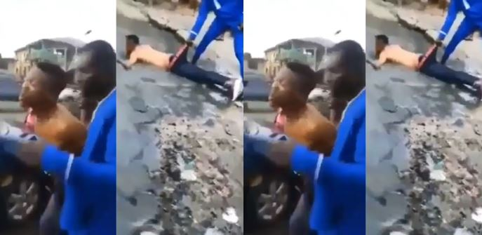 Yahoo boy allegedly runs mad, screams 'I no fit use my mama '