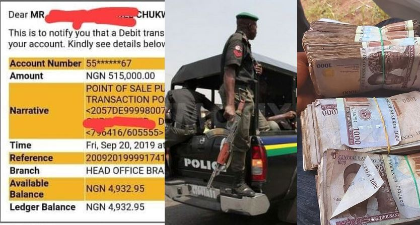 How police in Delta state are working with POS operators to rob citizens