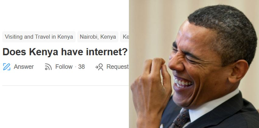 """Africans give hilarious answers to man who asked online if """"Kenya has internet"""""""