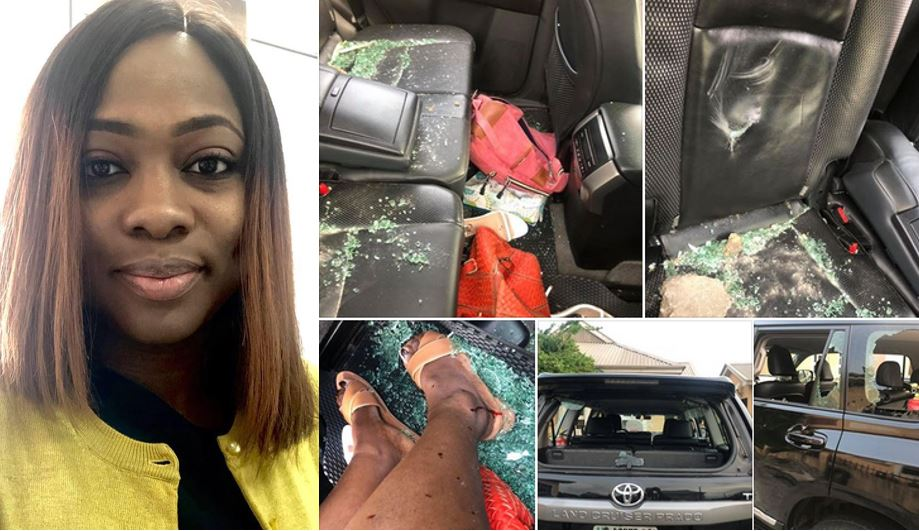 'Nigeria is sick' – Nigerian lady narrates how she was attacked by Nigerians protesting over the xenophobic attacks in SA