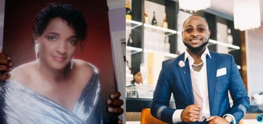 Davido pays tribute to his late mother with beautiful words