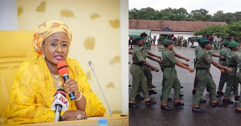 Deploy female soldiers to fight insecurity – Aisha Buhari