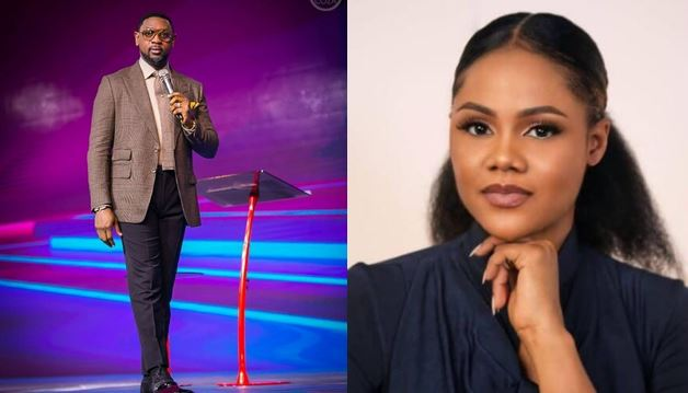 """stop lying up an dan"" – Fatoyinbo tells Busola Dakolo in pidgin"