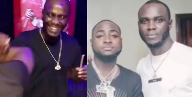 DMW crew member, Obama spotted in Davido's studio, debunks rumour of being chased out by Davido