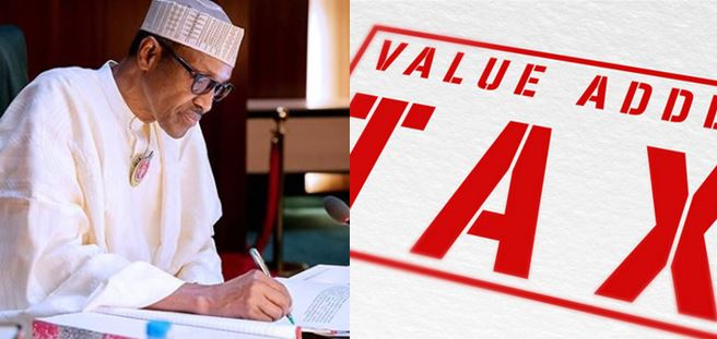 Buhari increases VAT from 5% to 7.2%