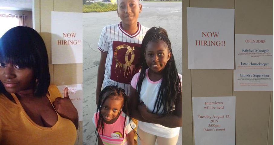 Mom creates household jobs and make her kids apply to get monthly allowances