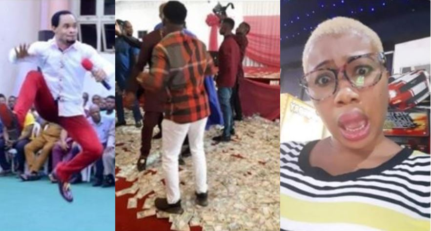 Funny Photo News of the Day: Indonesia deports Nigerians after they sprayed money during Pastor Odumeje's church programme