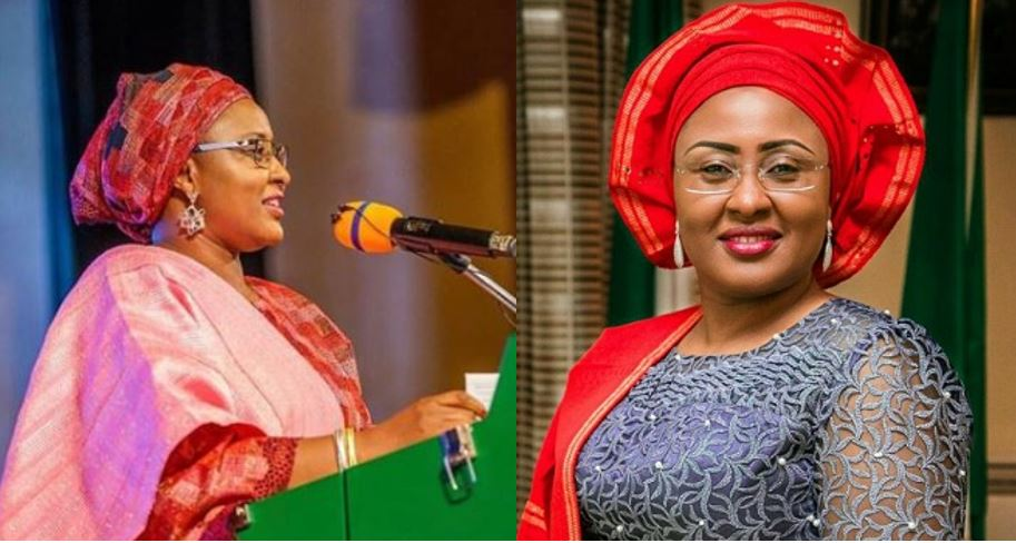 Aisha Buhari apologises over embarrassing viral video of her shouting in Aso Rock