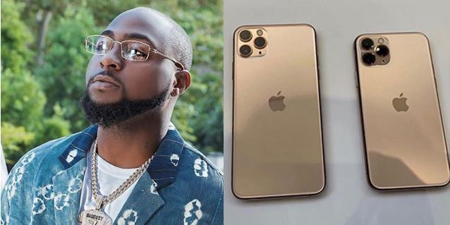 """""""Davido is Broke, he cant afford to buy the new iPhone 11"""" – Nigerian man says"""