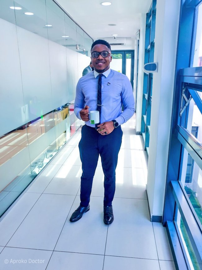 Aproko Doctor shares his childhood struggle as he graces the c0ver of Mode Men Magazine