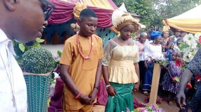 17-year-old boy marries 16-year-old girl in Anambra state