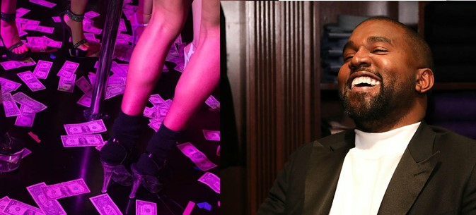 Shocking! Strip club invites Kanye West to hold Sunday service in the club