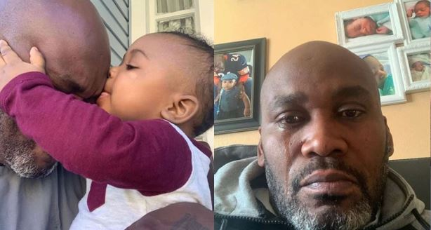 Man in tears as he finds out he is not the real father of baby he raised alone for 9 months