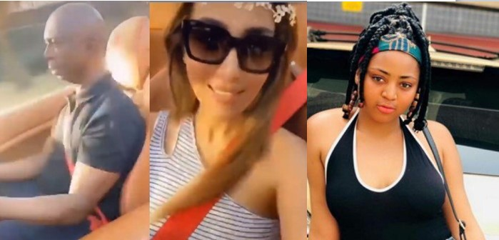 Nigerians mock Regina Daniels as her hubby, Ned Nwoko cruises with his other wife