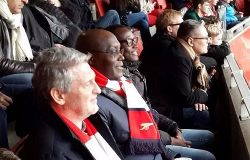 HILARIOUS! Atiku's son trolls him on Twitter after Arsenal lose 2-1 to Chelsea