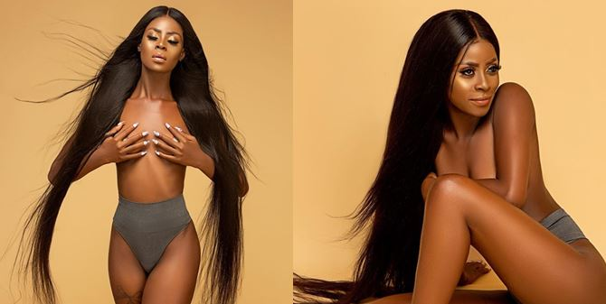 BBN's Khloe goes braless for an endorsement deal