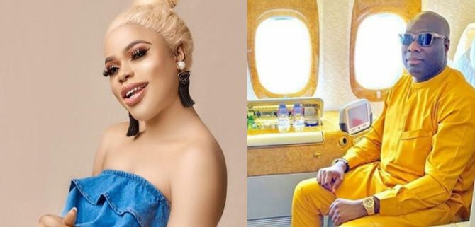 Bobrisky advises Mompha on what to do next after his release from prison