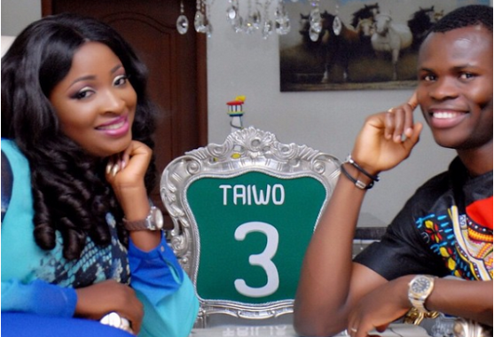 Former Super Eagles defender, Taye Taiwo shares adores pictures of wife on Birthday