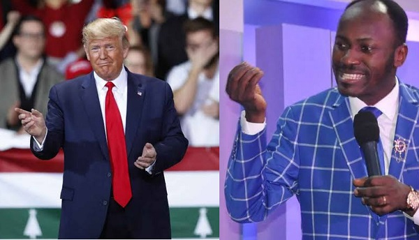 Apostle Johnson Suleman reveals he is praying for US President, Trump
