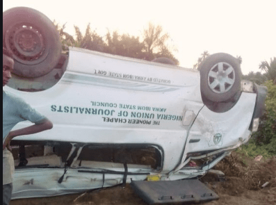 Nigerian Journalists killed in Akwa Ibom accident
