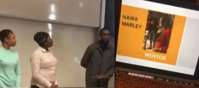 """Trending Video: """"Naira Marley is our mentor""""- Nigerian student in Canada reveals after presentation"""