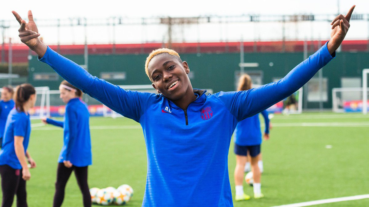 What Asisat Oshoala said after she won her 4th African Female Footballer of the Year