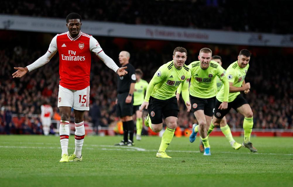 Arsenal held to another painful 1-1 draw at home against Sheffield United