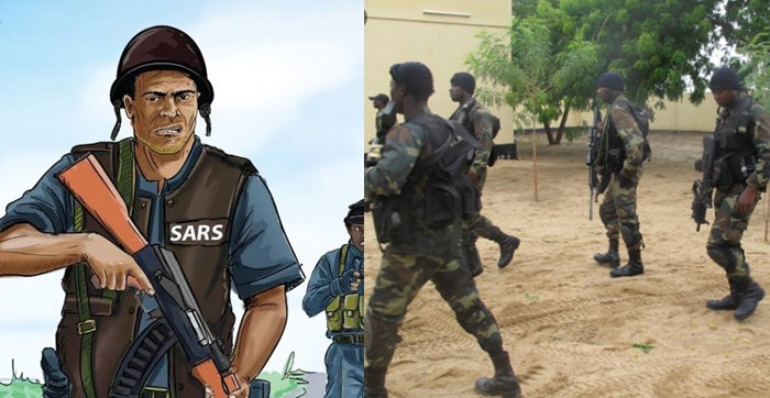 SARS picked me up, forced me to call my dad for money, he calmly asked for their address then stormed the station with soldiers – Man narrates