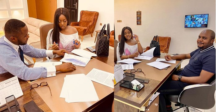 Chioma bags major endorsement deal with Royal Hairs (Photos)