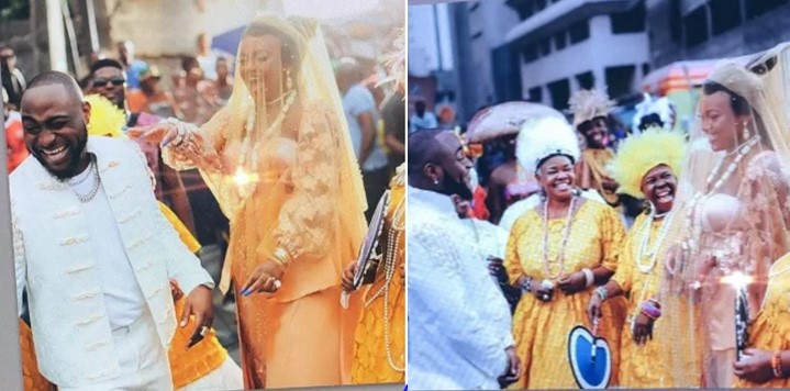 See photos from Davido's One Milli 'traditional wedding' to Chioma